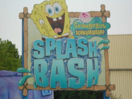 Movie Park Germany: very welcome water activities (on a hot day)