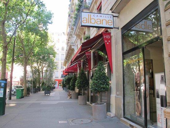 Hotel picture of hotel britannique paris tripadvisor for Location hotel a paris