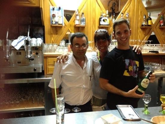 Restaurante El Picadero: tolles Team !!