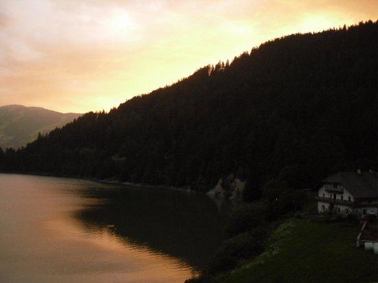 Hotel Seehof: tramonto sul lago