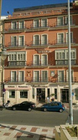 Hotel Tribuna: La facciata del hotel