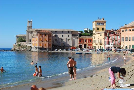 Sestri Levante, Italy: spiaggia