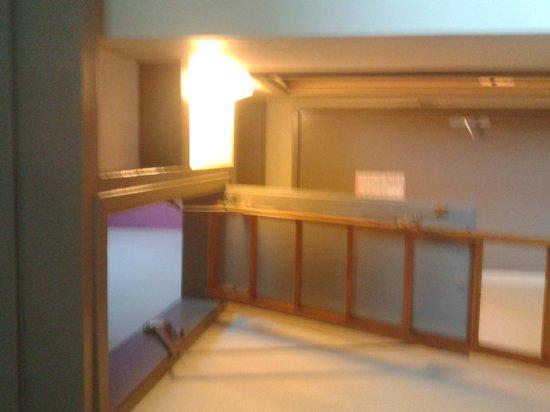 Hotel Gochoki: Echelle pour mezzanine à réserver à des ados