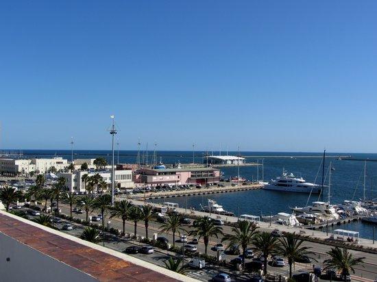 Marina di Castello: Marina view from the roof terrace