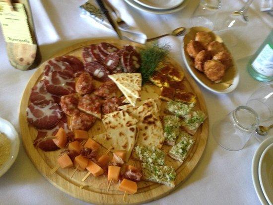 Agriturismo Marzanella: antipasto