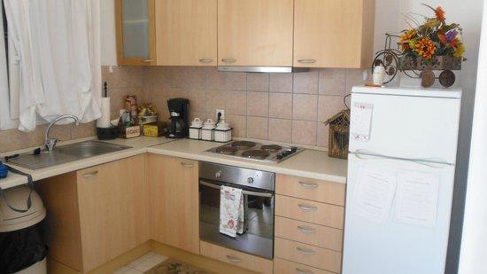 Eleni's Village Suites: Kitchen