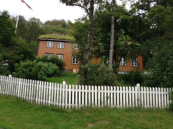 Hamsunsenteret: The house where Hamsun grew up