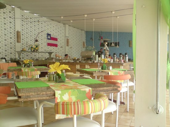 Ubatuba Palace Hotel: Pronto par o café