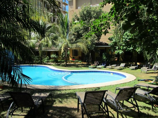 Villas Macondo: Blick von unserem Bungalow