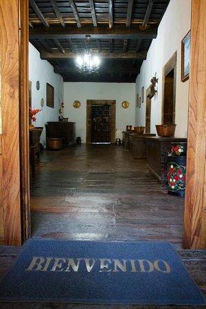 Casona de Treviño: Entrada