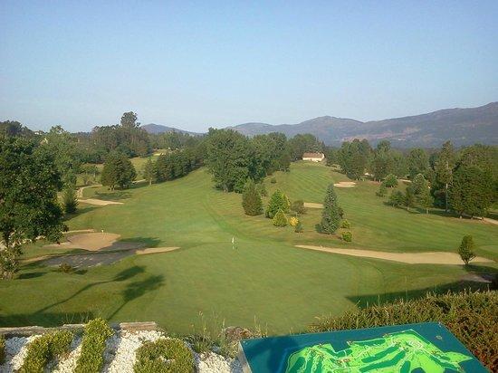 Balneario de Mondariz: Green del hoyo 18