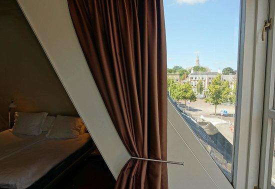 Hotel Corps de Garde: Uitzicht vanuit kamer 16