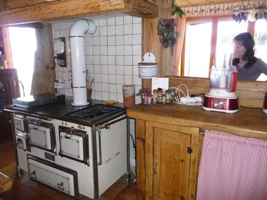 Le chalet du Golet : très belle cuisine