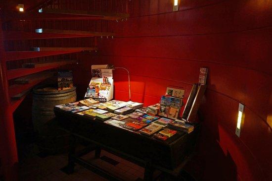 Hotel Corps de Garde: UItgebreide foldertafel