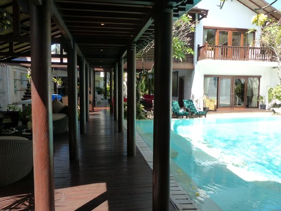 Villa Casis: Vue depuis la maison du fond