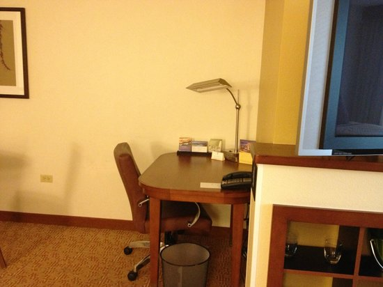 Hyatt Place Chicago/Schaumburg: Outdated - gloomy looking room