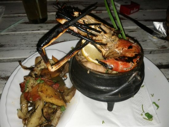The Beach House Restaurant & Beach Bar: Plat fruits de mer