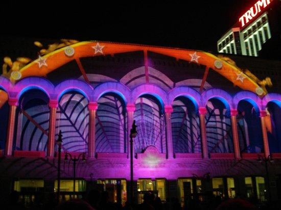"""Boardwalk Hall: Light Show """"Duality"""""""