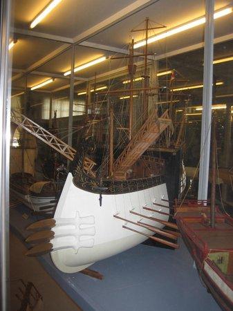 Museo Tecnico Navale della Spezia: Model of ancient roman ship