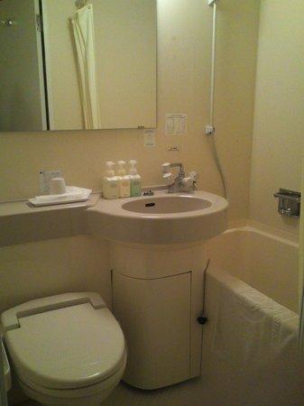 Excel Inn Shibukawa: バスルーム