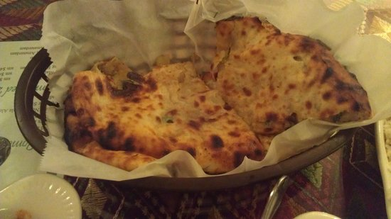 Taste of Punjab: Aloo naan