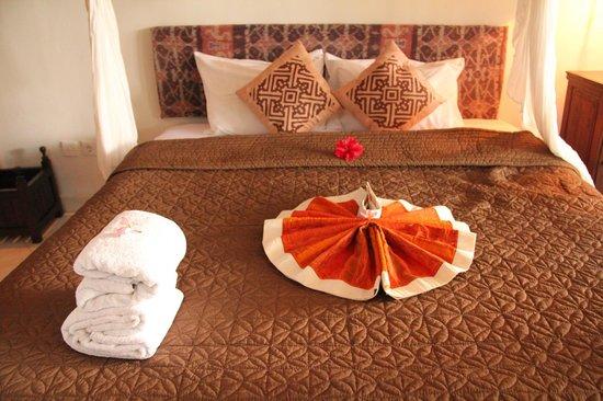 Mulawarman Ubud Bali : Bed