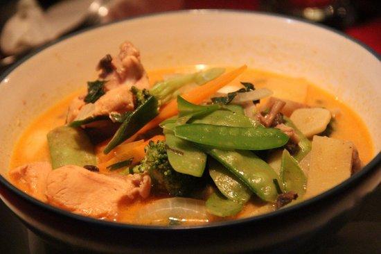 Mulawarman Ubud Bali: Curry Chicken