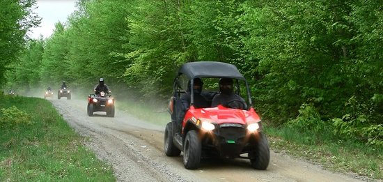 The Forks, ME: ATV & Side by Side Rentals and Guided Trips