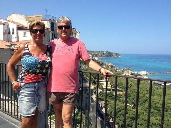 Hotel Residence Costa Azzurra: Franco e Maria