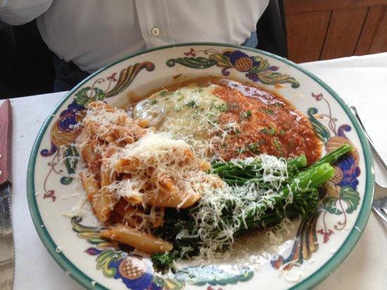 Trattoria Contadina: And finally yummy pasta
