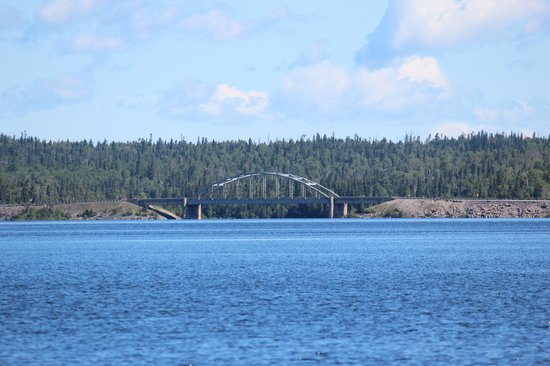 White Lake Provincial Park: Bridge on TransCanada