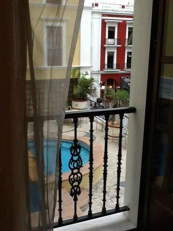 Gran Hotel Diligencias: Hermosa vista.