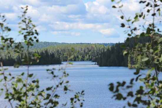 White Lake Provincial Park: View from vacant sites