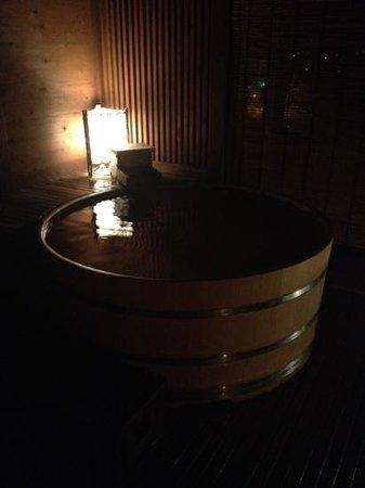 Kawana Inn: 檜風呂