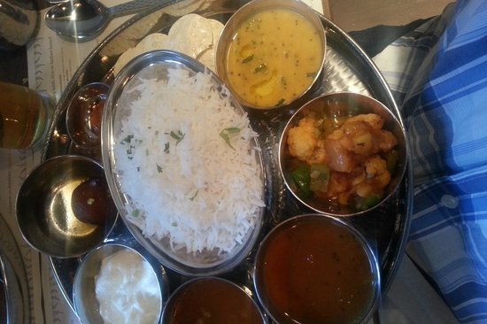 Indian Tiffin Room: South Indian Thali