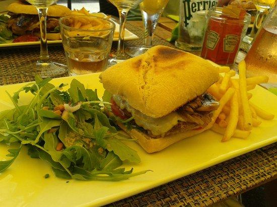 Palm Café : burger forestier