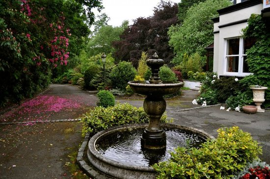 Brook Meadow Hotel: Simply Stunning, Water features near the entrance