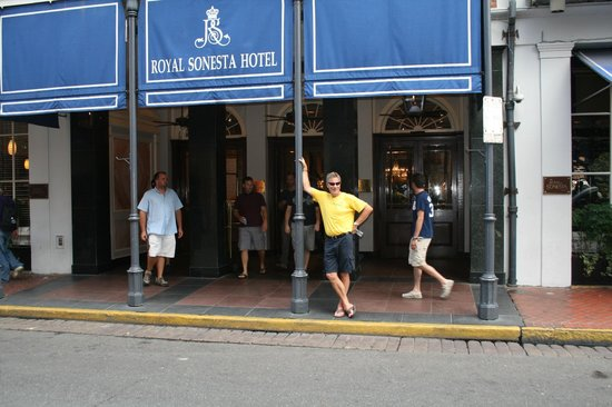 Front Doors On Bourbon St Picture Of Royal Sonesta New