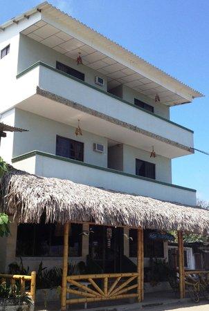 Hotel Manglaralto with a nice ocean view
