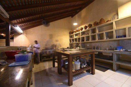 Fortaleza: The kitchen