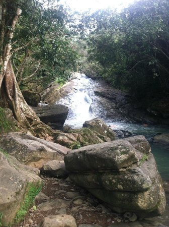 Las Paylas: Natural water slide