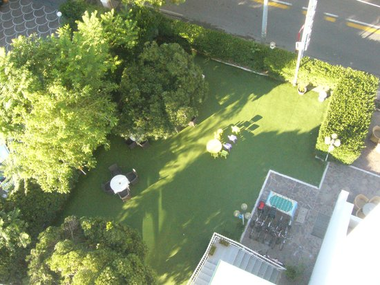 Vista Giardino Dalla Camera Foto Di Hotel Aristeo