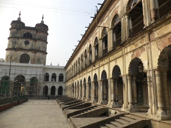 Hooghly, India: The clock tower and adjoining buildings