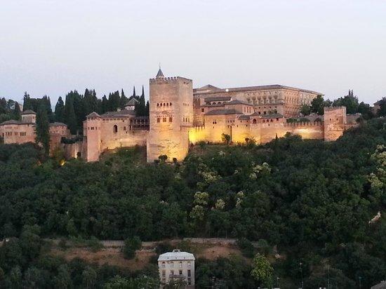 Carmen Mirador de Aixa : The oldest section of the Alhambra