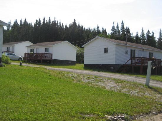 Bonne bay cottages wiltondale canada campingplads for Gros morne cabine del parco nazionale