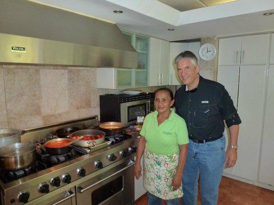 Casa Guardia Panama : With Chef Ana in the kitchen