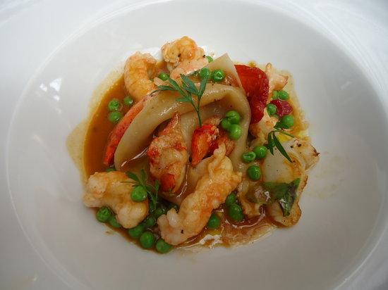 Hotel de France restaurant : Lobster