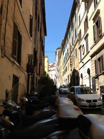 Hotel Delle Regioni: street