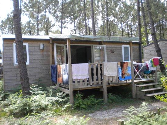 Camping Sandaya Soustons Village : notre bungalow 6 places