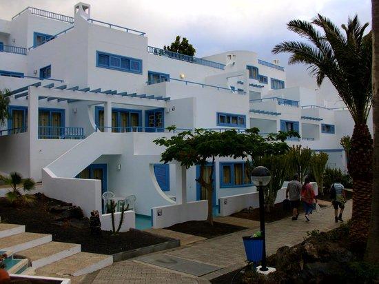 Aparthotel Costa Mar: Hotelanlage - Bauweise